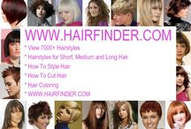 Hairstyles / by Evelyn Cathey