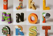 Art Ed Alphabets / by Deyana