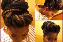 Natural Hair and Don't Care  / by Jillian Bain