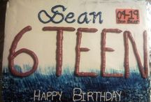 birthday cakes / by Chris Kamen