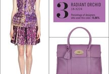 """Radiant Orchid / Pantone has recently announced their color of the year, and the winner is Radiant Orchid. Described by Leatrice Eiseman, executive director of the Pantine color institue, Radiant Orchid is, """"An enchanting harmony of fuchsia, purple and pink undertones, Radiant Orchid inspires confidence and emanates great joy, love and health,"""" / by Northeastern Events"""