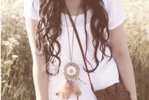 Bohemian Closet / Styles i like that are a mixture of hippie, bohemian and country that brings out my inner self. / by Becky Sifuentes