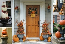 fall/halloween decor / by Jessica Stovall