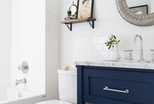 Home: bathroom decor / by Jessica Ketchum
