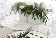 table scape / by Melanie Wheeler