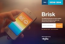 Web Design - Landing pages for iPhone apps / by J Gallardo