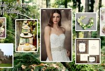Earthly Greens Wedding  / A Castle inspired wedding! / by Impression Bridal