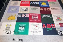 Tshirt quilt / by Melissa Morales