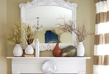 mantels / by Debbie Minarik