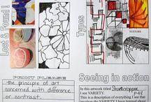 Art - Principles of Design / by Valerie Jobe