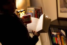 Reading / by Amina | PAPER/PLATES