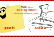 "Post It or Toast It? #AWBU2014 Take Better Pictures / Here's a fun little project to do before #AWBU2014.  Sarabeth and Whitney want to see two photos from you: 1) your beautiful, post-ready masterpiece and 2) the one that really needs some ""bless your heart"" help. / by ARWomenBloggers ."