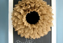 Burlap / by April Pintard