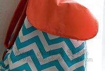 {my bags/backpacks/wallets/pouches} / by Rachelle @ Simple Stitches