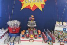 superhero Party Ideas / by Ashlee Cox