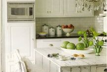 pretty kitchen...motivation to cook / by Sophia F.