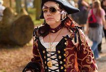 Steampunk / pirate costume ideas / by Bohomia
