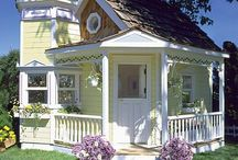 Cute Homes / Dream homes that are cute and charming / by Misty Perkins