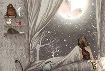 Moon Beams And Sky Lights / by Jelu Binion