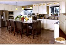 Kitchen Inspiration / So many styles and finishes to choose from...  Here's Some ideas to get you started!! / by Giesken's Cabinetry & Floor Covering