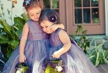 Little Flower Girls / by Diane Gaul