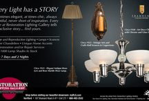 Ads & Ideas / by Restoration Lighting Gallery