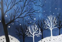 aRt IdEaS: winter weather and animals / by Kari George