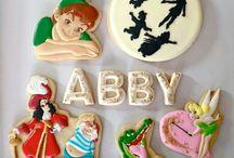 Peter Pan cookies / by Laura Alpaugh