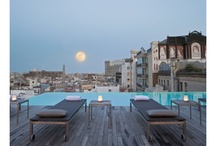 Up on the roof / Rooftop hotel bars, swimming pools with views and top-floor terraces –perfect for getting a little perspective on life / by Mr & Mrs Smith