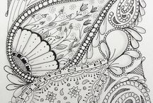 zentangle inspiration / by Alice Nelson