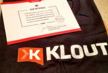 Klout, Perks & Goodies / by thephotographer4you®