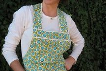A is for Apron / Aprons: old and new, pictures, patterns, prints, and ideas / by Charlene West