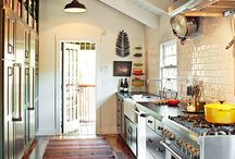 kitchens dinettes and eating areas / by Angie Seabolt