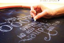 Chalkboards / by Jeanita Mc