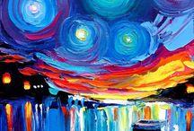 Paint along ocean/summer ideas / by Torri Bates Janzen