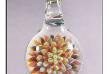 Glass Jewelry / Blown glass jewelry handmade by us, Amir and Allison from Glass Peace / by GlassPeace