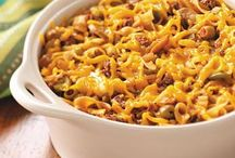 Casserole Recipes / by Sarah Colwell
