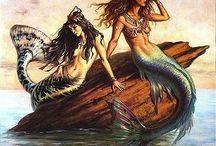 Mermaids! / by Heather Suzanne