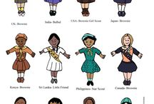 Girl Scout event ideas / Multi troop get togethers: thinking day, Juliet low birthday, holidays   / by Jessica Mayer