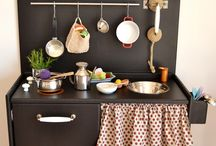 Toy kitchen  / by Lucy Moloney