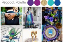 Peacok Theme Indian Wedding / by Indian Wedding Site