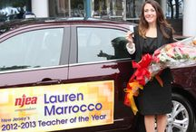 TOY  / Teacher of the Year / by New Jersey Education Association
