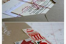 Wedding invitation ideas / by Debi Decker