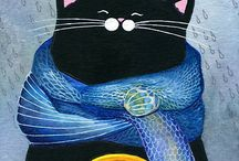 Cats & Catty Crafts / by Susan Lester