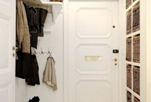 entryways and mudrooms / by Sharon Barrett Interiors