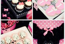 Birthday party, wedding, and baby shower ideas / by Scarlett Morrison