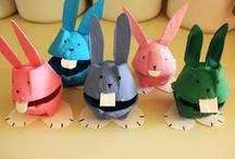 animaux à poils : lapinou / thème lapin / by Christel Ponsero