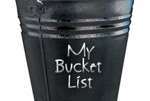 ✔ My Bucket List ✔ / by Lorri