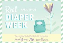 Cotton Babies Real Diaper Week / by Leigh Perrino