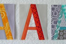 A is for ... / by Thimbleanna .